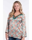 Rancho Estancia Womens Keely Tunic with Beading (Closeout)