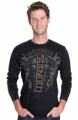 Red Chapter Mens Long Sleeve