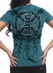"Red Chapter Womens ""Dream/Believe"" Tee Shirt - Jade Mint"