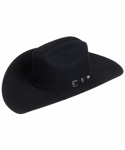 Resistol City Limits 6X Felt Cowboy Hat - Black