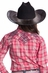 Resistol Girl's Katie Ranee Plaid Shirt - Pink (Closeout)