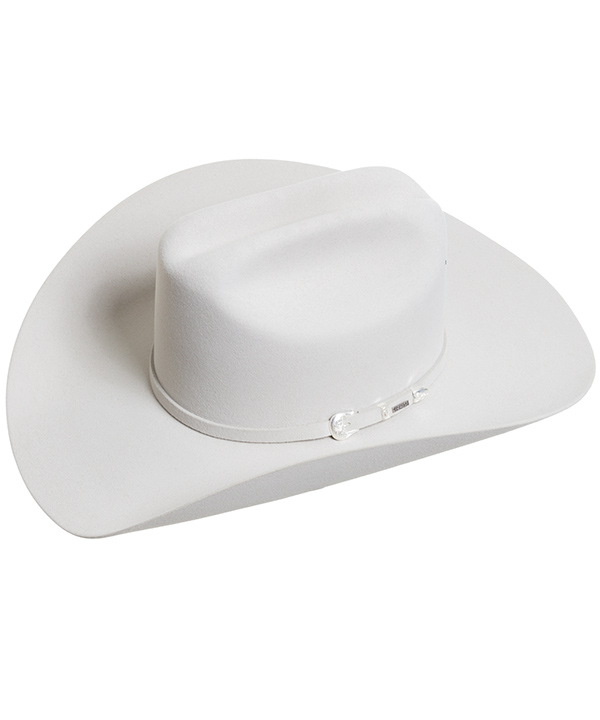 Resistol Midnight 6X Felt Cowboy Hat - Silver Belly