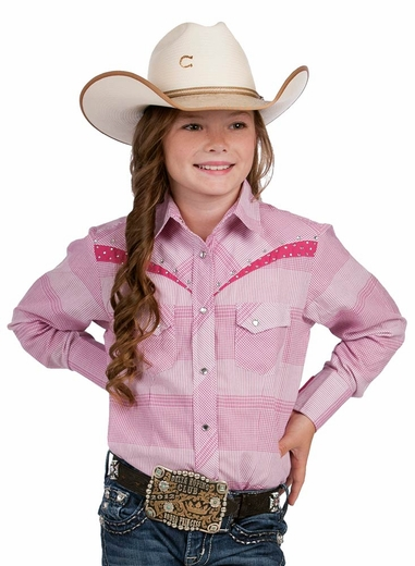 Resistol RU Girls Willow Skylar Snap Western Shirt