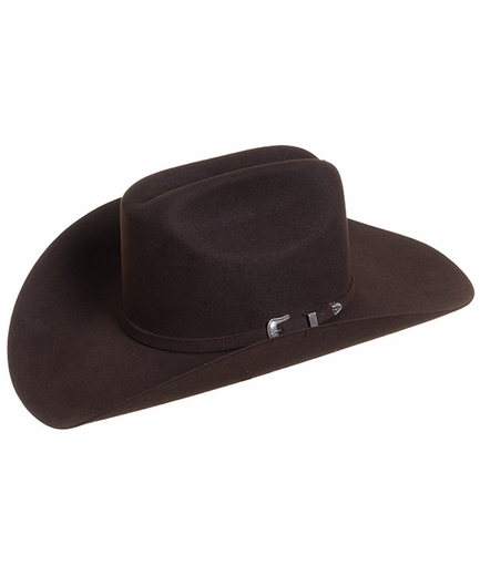 Resistol The Challenger 5X Felt Cowboy Hat - Chocolate (Closeout)