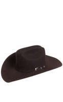 Resistol The Challenger 5X Felt Cowboy Hat - Chocolate