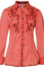 Roar Women's Fruition Shirt - Coral