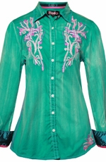 Roar Women's Reflora Shirt - Green