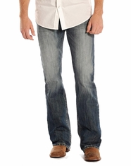 Rock and Roll Cowboy Men's Double Barrel Jeans - Dark Vintage (Closeout)