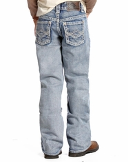 Rock & Roll Cowboy Boy's Regular Fit Jeans-Light Wash