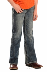 Rock & Roll Cowboy Boys Regular Fit  Jeans (Closeout)