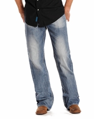 Rock & Roll Cowboy Men's Cannon Fit Straight Leg Jeans - Light Wash