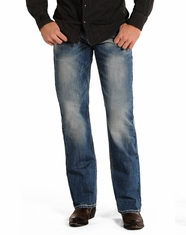 Rock & Roll Cowboy Men's Cannon Loose Fit Straight Leg Jeans - Light Wash (Closeout)