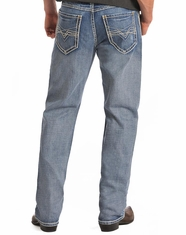 Rock & Roll Cowboy Men's Cannon Loose Fit Straight Leg Jeans-Medium Vintage (Closeout)