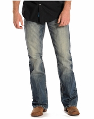 Rock & Roll Cowboy Men's Double Barrel Jeans - Medium Vintage (Closeout)