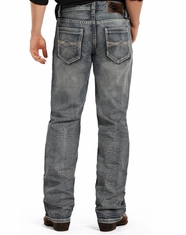 Rock & Roll Cowboy Men's Double Barrel Low Rise Relaxed Fit Boot Cut Jeans - Medium Vintage