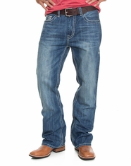 Rock & Roll Cowboy Men's Double Barrel Relaxed Boot Cut Jeans (Closeout)