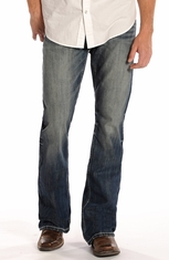 Rock & Roll Cowboy Men's Double Barrel Relaxed Fit Boot Cut Jeans (Closeout)