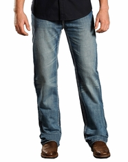 Rock & Roll Cowboy Men's Double Barrel Relaxed Fit Jeans (Closeout)
