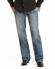 Rock & Roll Cowboy Men's Double Barrel Relaxed Fit Straight Leg Jeans - Medium Vintage Wash (Closeout)