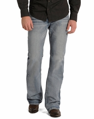 Rock & Roll Cowboy Men's Double Barrel Relaxed Fit Jeans - Medium Vintage Wash (Closeout)