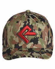 Rock & Roll Cowboy Men's Logo Cap - Camo (Closeout)