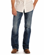 Rock & Roll Cowboy Men's Pistol Fit Straight Leg Jeans - Medium Vintage (Closeout)