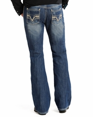 Rock & Roll Cowboy Men's Pistol Regular Fit Boot Cut Jeans - Medium Vintage