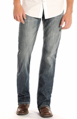 Rock & Roll Cowboy Men's Pistol Regular Fit Straight Leg Jeans (Closeout)