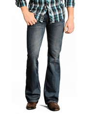 Rock & Roll Cowboy Men's Pistol Slim Fit Jeans - Dark Wash (Closeout)