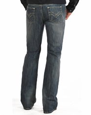 Rock & Roll Cowboy Men's Regular Fit Boot Cut Jeans-Medium Wash