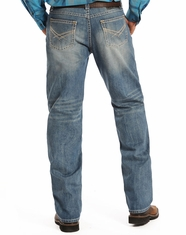Rock & Roll Cowboy Men's Tuf Cooper Mid Rise Competition Fit  Straight Leg Jeans-Medium Vintage