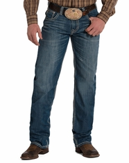 Rock & Roll Cowboy Men's Tuf Cooper Competition Fit Straight Leg Jeans - Medium Wash (Closeout)