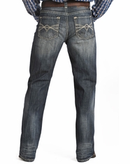 Rock & Roll Cowboy Men's Tuf Cooper Competition Fit Straight Leg Jeans-Medium Vintage