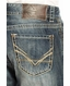 Rock & Roll Cowboy Mens Double Barrel Relaxed Fit Jeans (Closeout)
