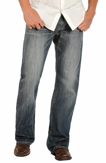 Rock & Roll Cowboy Cannon Loose Fit Straight Leg Jeans
