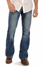 Rock & Roll Cowboy Mens Jeans Double Barrel Relaxed Fit Jeans (Closeout)
