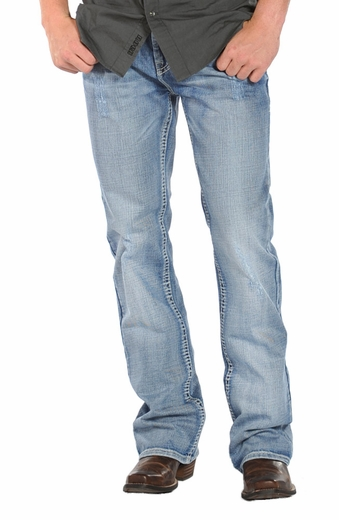 Rock & Roll Cowboy Double Barrel Relaxed Fit Jeans - Vintage Medium (Closeout)