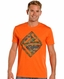 Rock & Roll Cowboy Mens Logo Tee Shirt - Orange (Closeout)