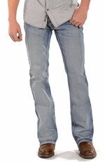 Rock & Roll Cowboy Mens Pistol Regular Fit Boot Cut Jeans