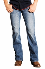 Rock & Roll Cowboy Mens Pistol Slim Fit Jeans - Vintage Wash