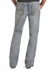 Rock & Roll Cowboy's Relaxed Fit Straight Leg Jeans-Medium Wash (Closeout)