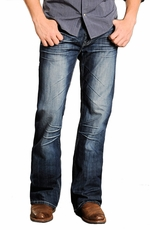"Rock & Roll Cowboy Straight Shooter Jeans with ""V"" Pockets"