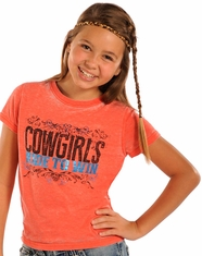 Rock & Roll Cowgirl Girl's Short Sleeve