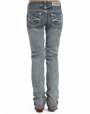 Rock & Roll Cowgirl Women's Boyfriend Fit Jeans - Medium Vintage