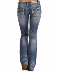 Rock & Roll Cowgirl Women's Low Rise Bootcut Jean-Medium Vintage (Closeout)