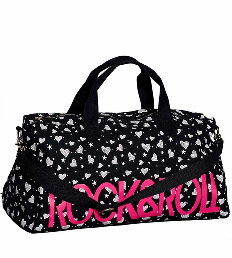 Rock & Roll Cowgirl Womens Weekender Bag - Black