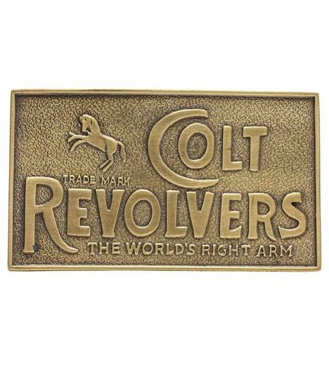 Rockmount Mens Western Buckle - Colt Revolvers (Closeout)