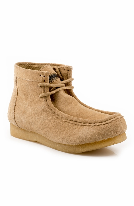 Roper Kids Gum Sole Chukka Shoe - Tan