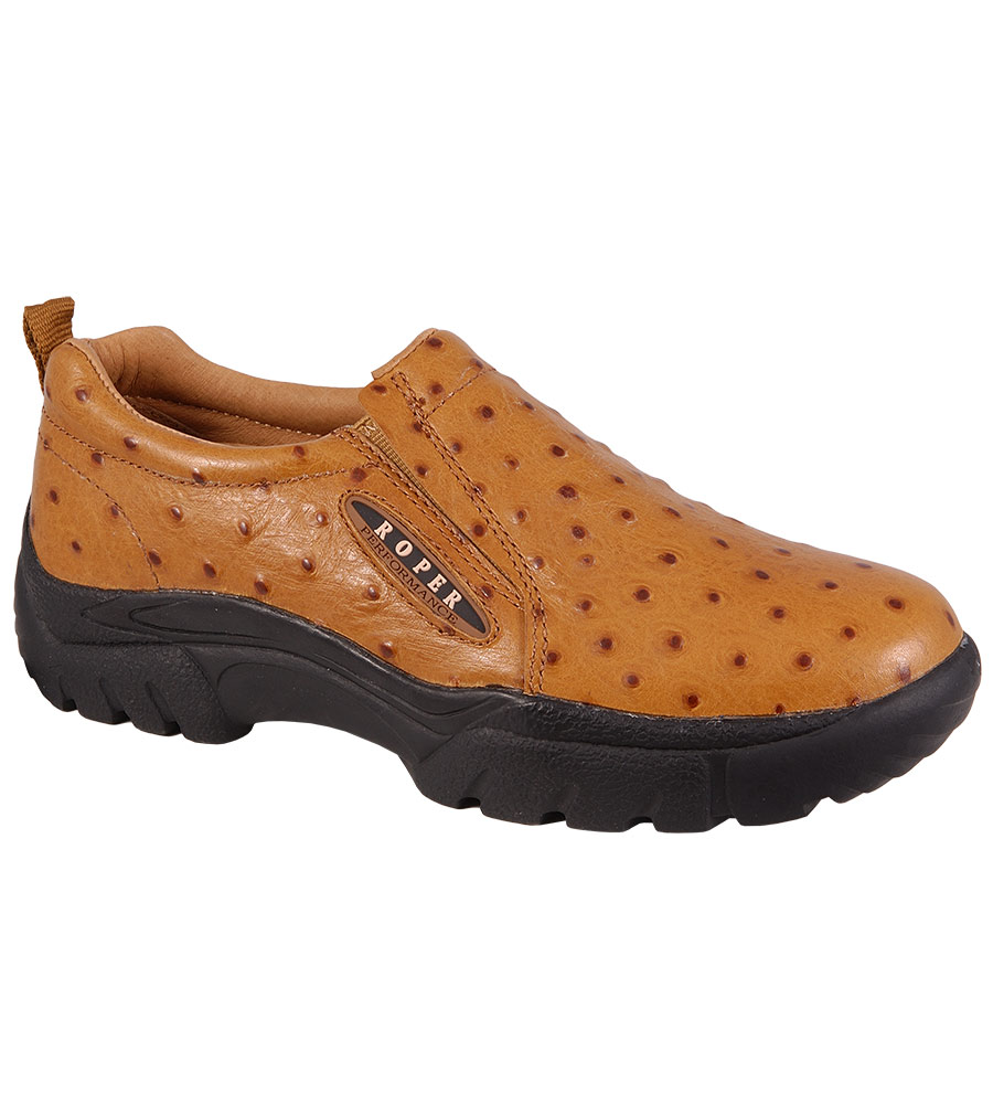 roper s sport slip on shoes ostrich
