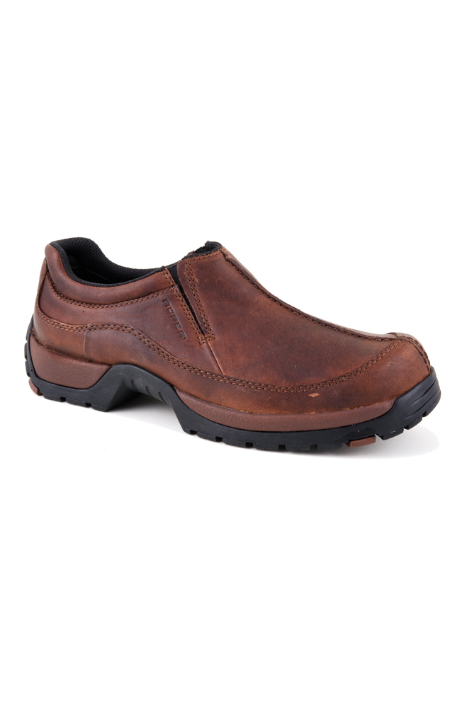 Roper Mens Performance Center Seam Slip-On